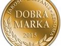 """Dobra Marka 2015 – Jakość, Zaufanie, Renoma"""" – nagroda dla marki Primavika, w kategorii produktów ekologicznych i naturalnych"""